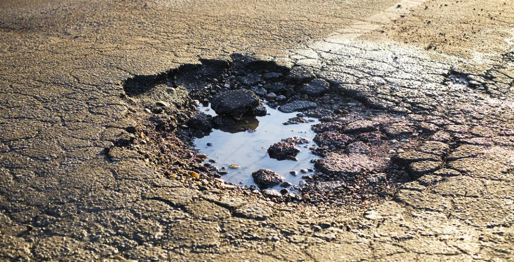 Potholes – Britain's nuisance