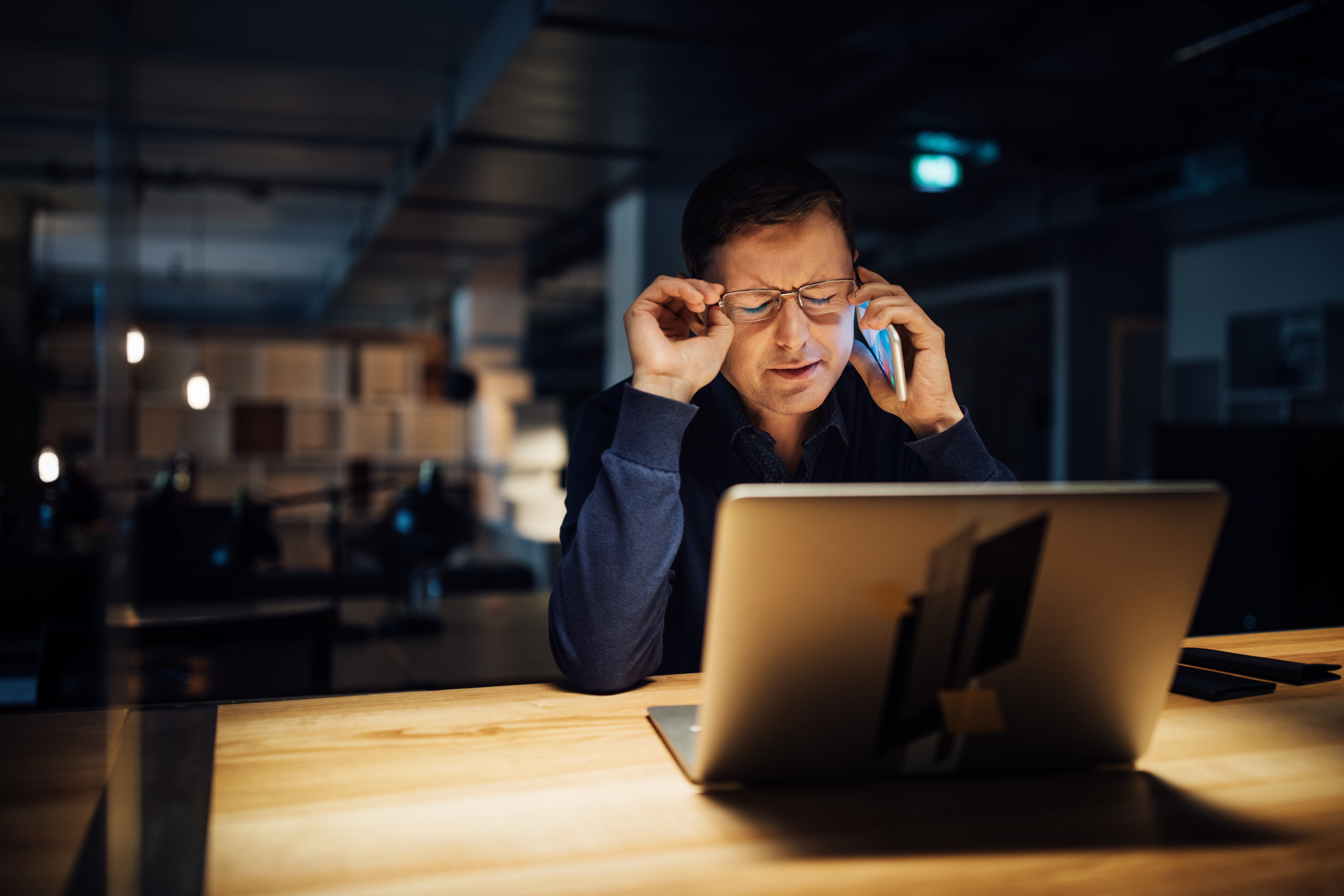1874, 1874, Frustrated businessman using phone while working late on laptop, Cyber-attack-.jpg, 13199960, https://www.fivewaysinsurance.co.uk/wp-content/uploads/2020/02/Cyber-attack-.jpg, https://www.fivewaysinsurance.co.uk/2020/02/03/5-most-likely-sme-cyber-attacks/frustrated-businessman-using-phone-while-working-late-on-laptop/, , 8, , Businessman talking on mobile phone working late on laptop while sitting at desk in office, frustrated-businessman-using-phone-while-working-late-on-laptop, inherit, 1844, 2019-06-13 13:17:17, 2019-06-13 13:17:17, 0, image/jpeg, image, jpeg, https://www.fivewaysinsurance.co.uk/wp-includes/images/media/default.png, 6720, 4480, Array
